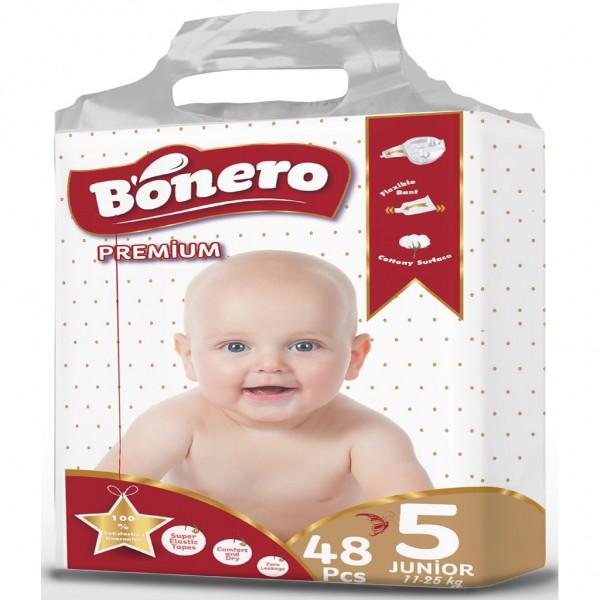 Bonero Baby Diaper Junior 48 Pcs