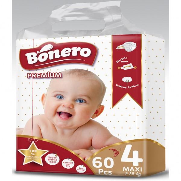 Bonero Baby Diaper Maxi 60 Pcs