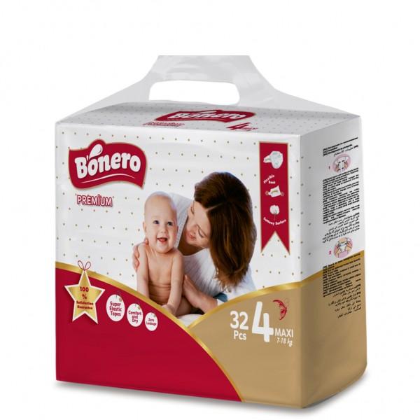 Bonero Baby Diaper Maxi 32 Pcs